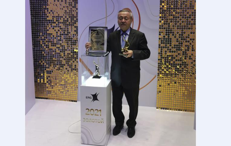Т. Муханов стал победителем национальной премии «Золотой Гефест»